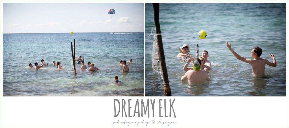 beach volleyball, destination wedding, cozumel {dreamy elk photography and design} photo