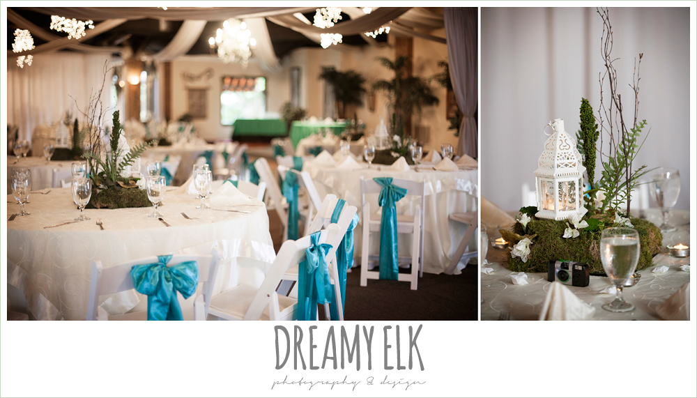 indoor wedding reception decorations, le jardin winter wedding {dreamy elk photography and design}