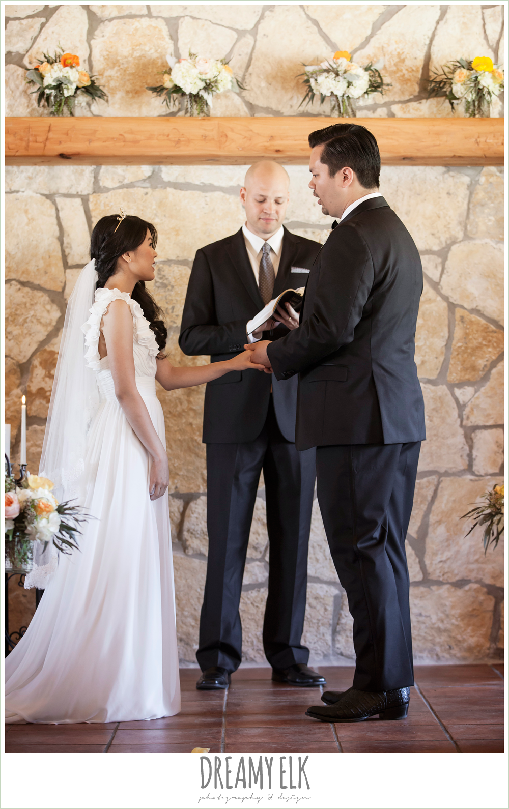 wedding ceremony, la hacienda, dripping springs, texas {dreamy elk photography and design} photo