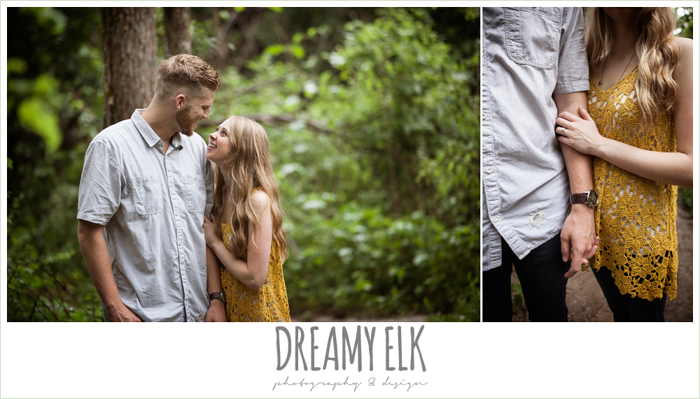 holding hands, overcast engagement photo, walnut creek park, austin, texas {dreamy elk photography and design}