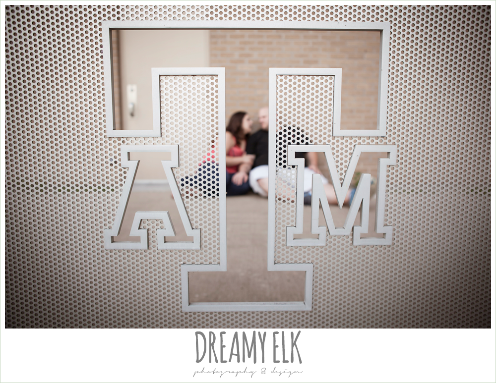 college station coffee shop engagement photo {dreamy elk photography and design}