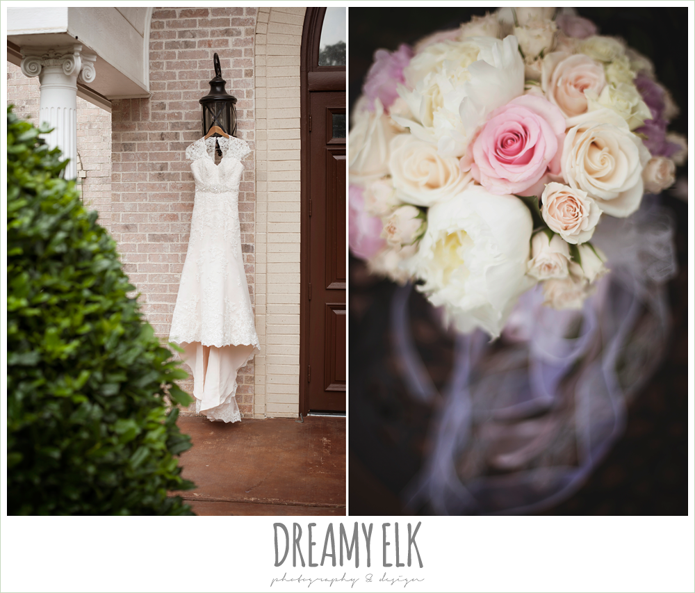 blush wedding dress, blush wedding bouquet, northeast wedding chapel, photo {dreamy elk photography and design}