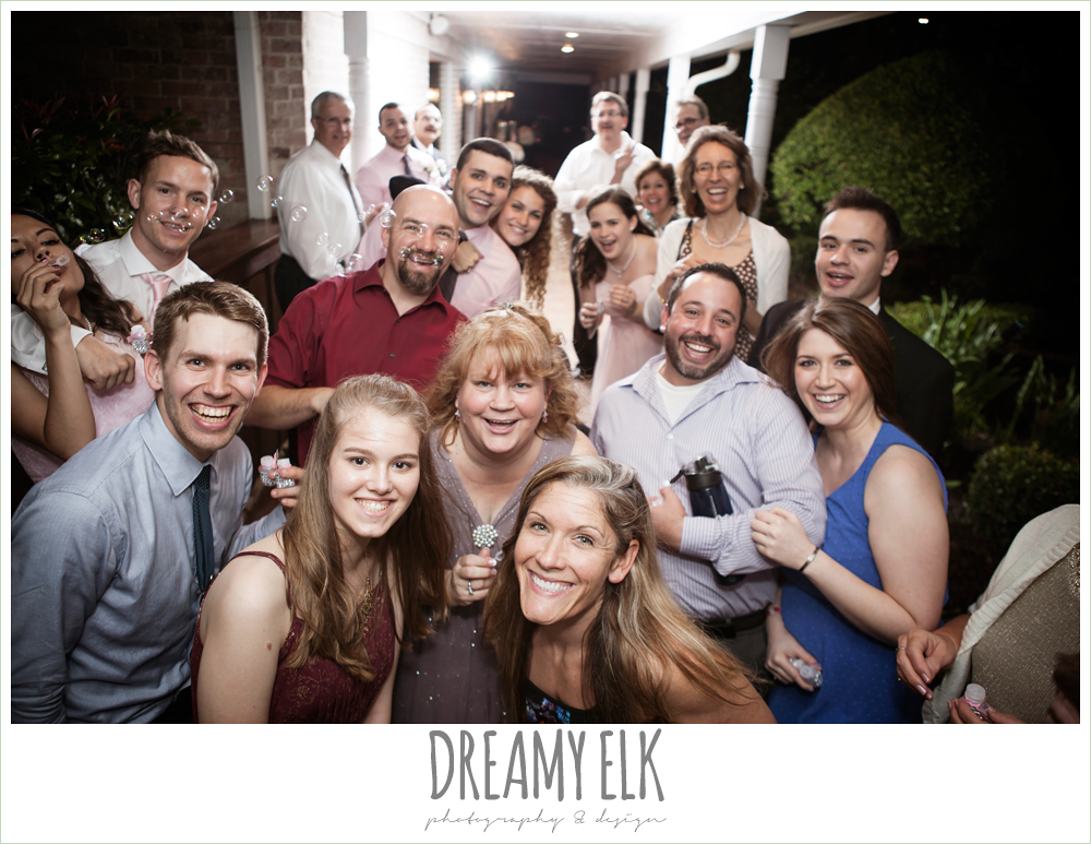 guests at wedding reception, northeast wedding chapel, rainy wedding day photo {dreamy elk photography and design}