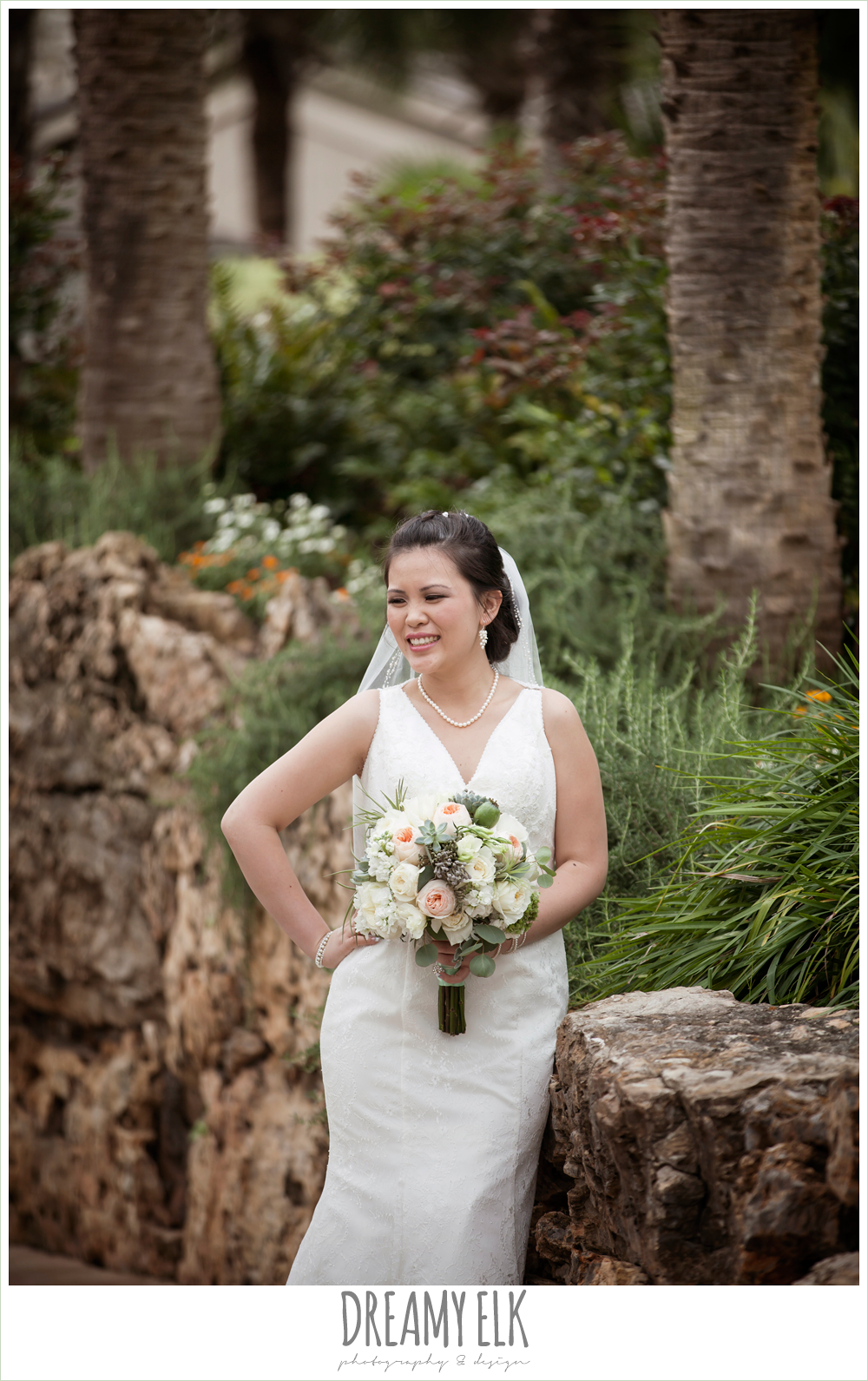 bridal portrait, lace two shouldered wedding dress, nautical theme wedding, magpie blossom boutique, horseshoe bay resort, photo {dreamy elk photography and design}