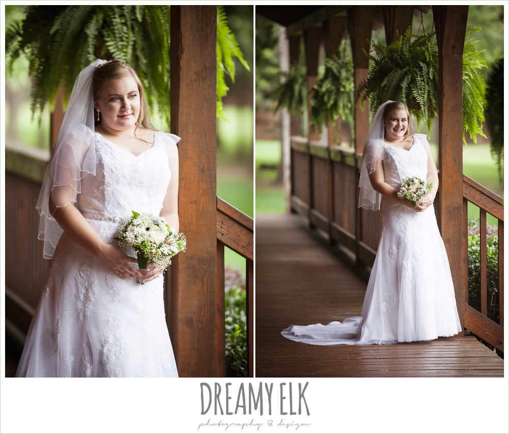 summer bridal portraits, wedding dress with cap sleeves, amber springs, houston, texas {dreamy elk photography and design} photo