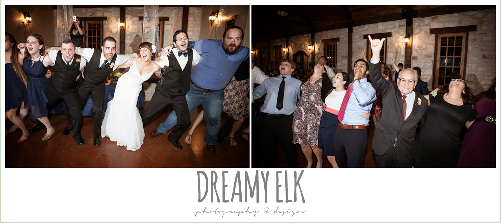 aggie war hymn at wedding reception, pecan springs, houston, texas photo {dreamy elk photography and design}