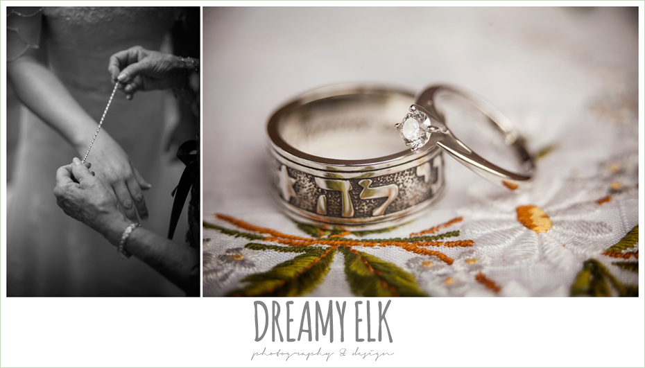 wedding bands, amber springs summer wedding photo {dreamy elk photography and design}