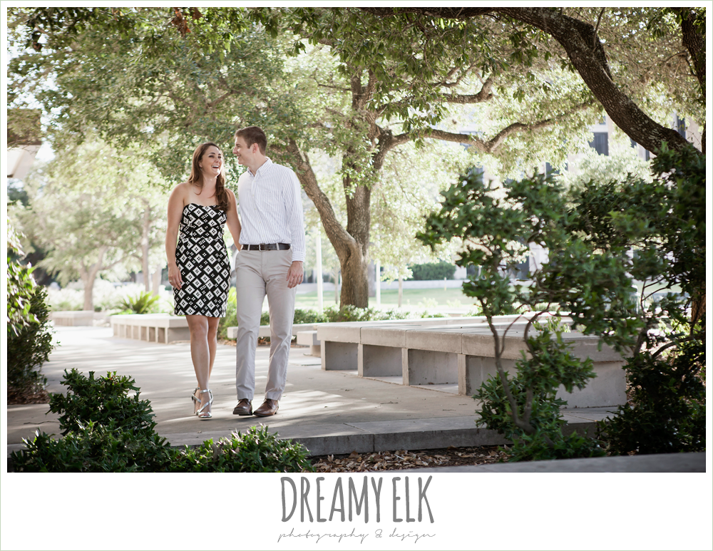 dressy casual wardrobe, texas a&m campus engagement photo, texas {dreamy elk photography and design}