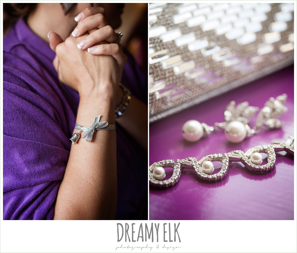 detail photo of wedding jewelry, houston, texas {dreamy elk photography and design}