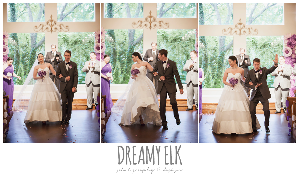 funny wedding photo, stepping on veil, indoor wedding ceremony, heather's glen summer wedding photo, houston, texas {dreamy elk photography and design}
