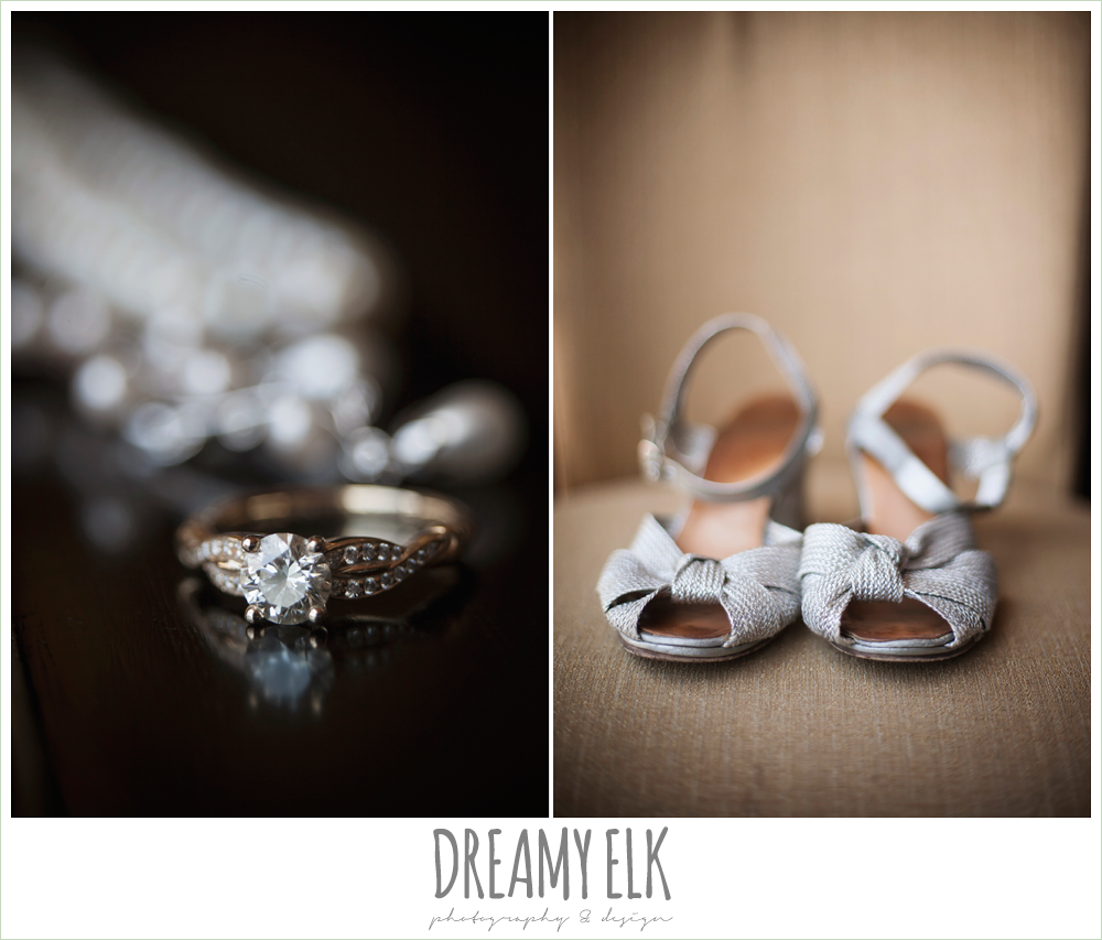 wedding jewelry, vintage wedding shoes, summer wedding photo {dreamy elk photography and design}