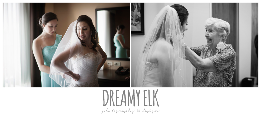 bride getting dressed, summer wedding photo {dreamy elk photography and design}
