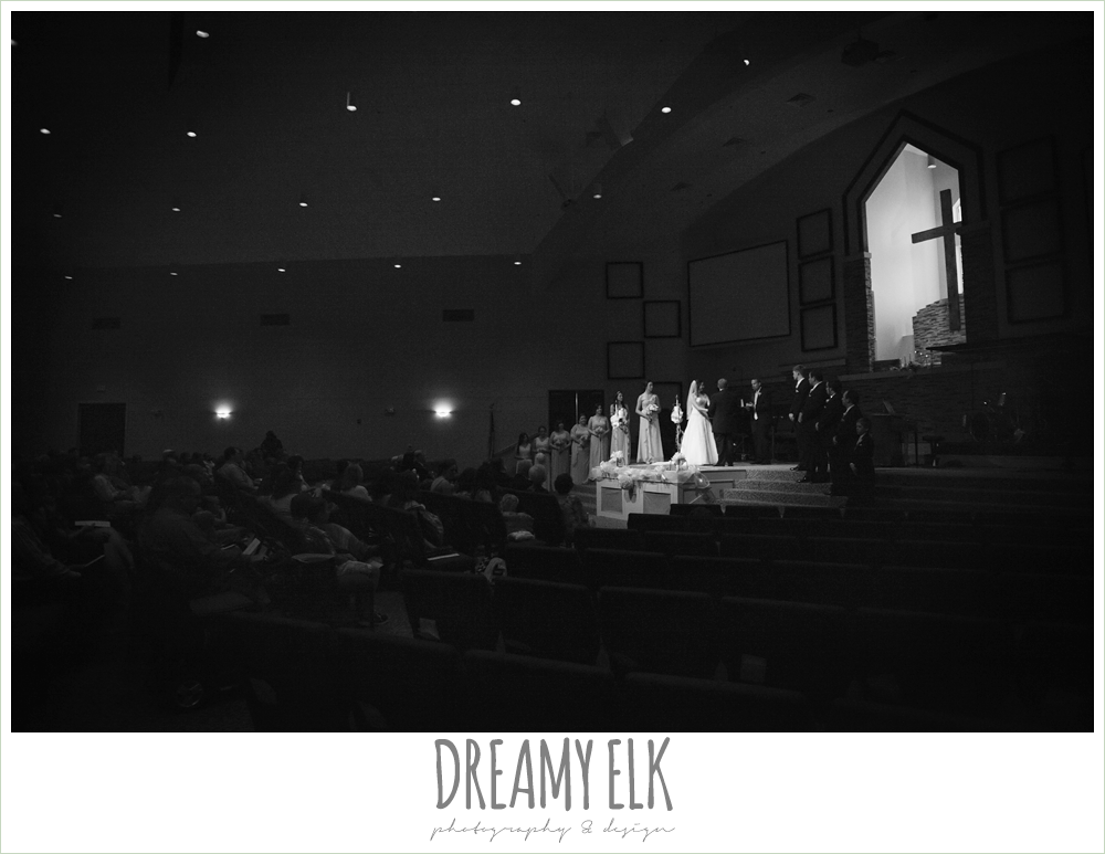 church wedding, summer wedding photo {dreamy elk photography and design}