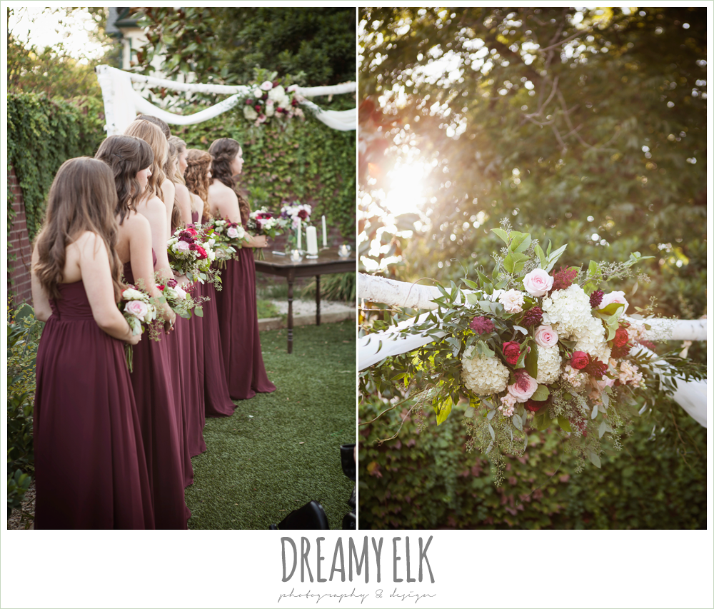 flourish floral design, wedding ceremony, the union on 8th wedding photo {dreamy elk photography and design}