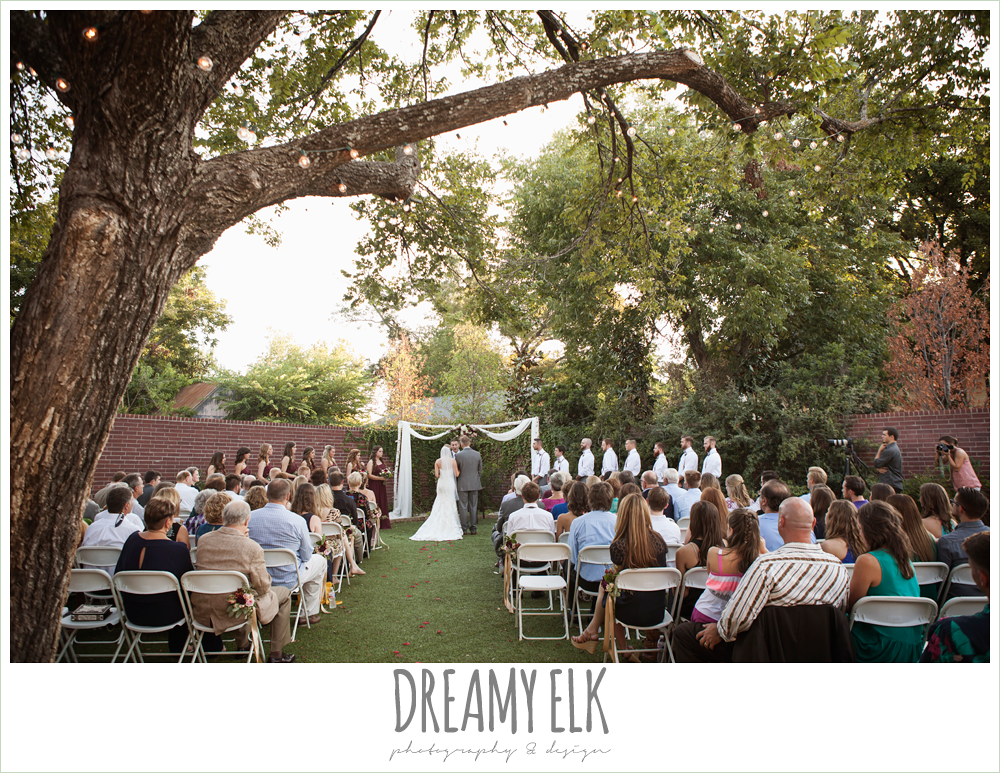 wedding ceremony, the union on 8th wedding photo {dreamy elk photography and design}