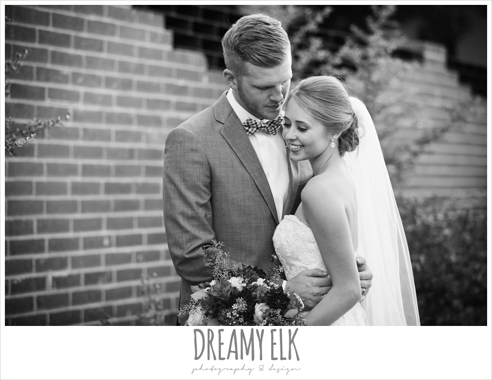 bride and groom portraits, the union on 8th wedding photo {dreamy elk photography and design}