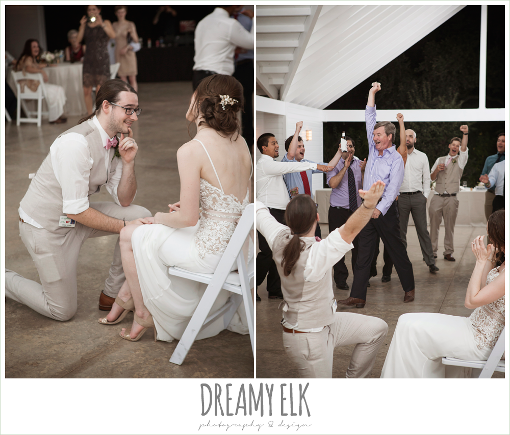 garter toss, the winfield inn, photo {dreamy elk photography and design}