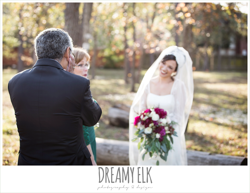 winter december church wedding photo {dreamy elk photography and design}