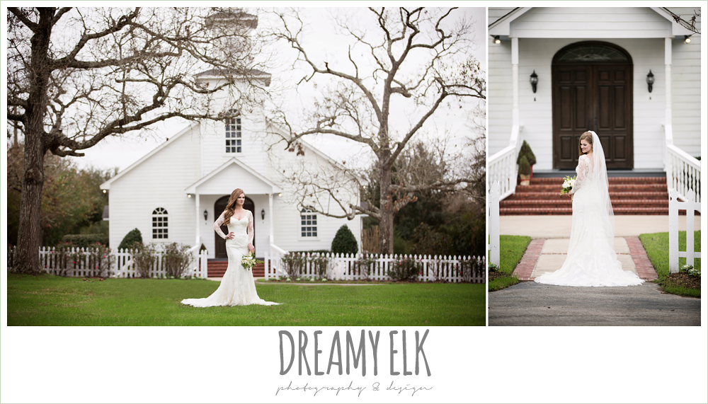 winter december bridal photo, long lace veil, long sleep lace wedding dress, ashelynn manor {dreamy elk photography and design}