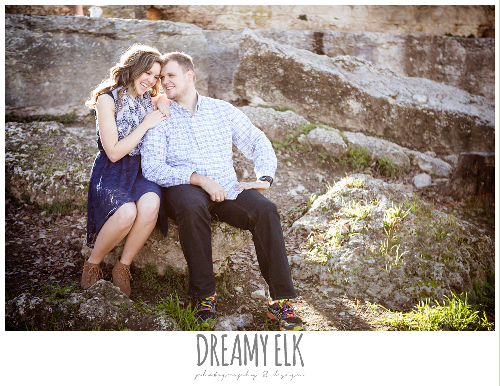 outdoor winter zilker park engagement photo, austin, texas {dreamy elk photography and design}