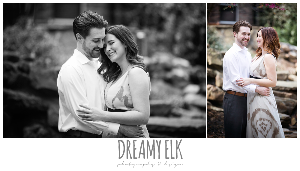 backyard spring engagement photo {dreamy elk photography and design}