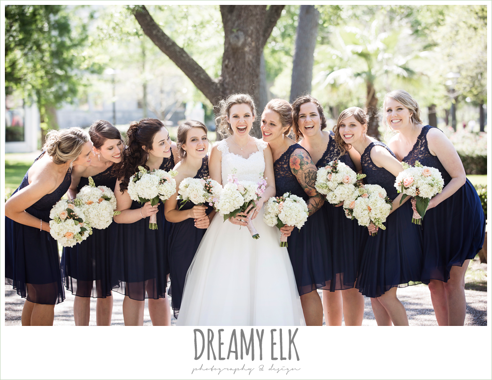 wedding hair updo with headband, sweetheart neckline with straps and illusion back, april spring wedding photo, houston, texas {dreamy elk photography and design}