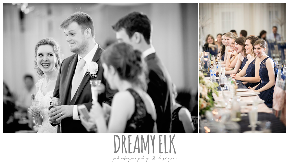 wedding reception toasts, april spring houston wedding photo, {dreamy elk photography and design}