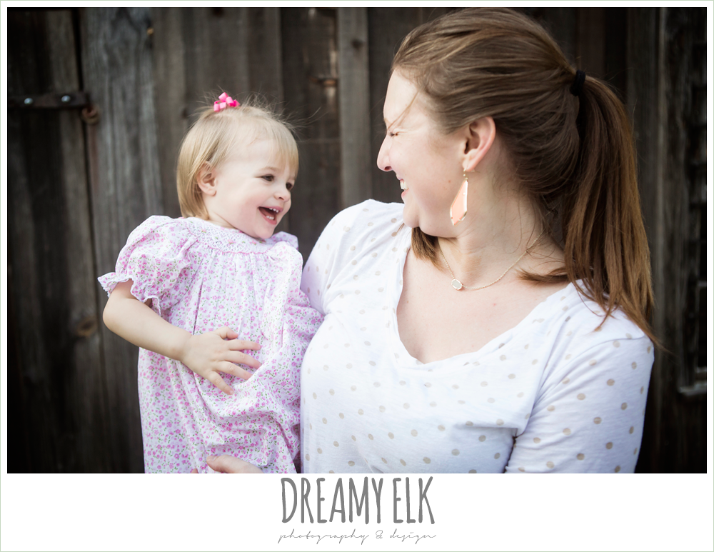 18 month old photo, photo of girl toddler laughing with mommy outside