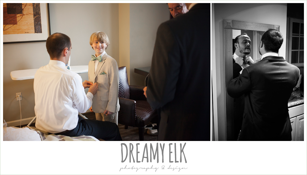 ring bearer and groomsmen getting dressed {dreamy elk photography and design}