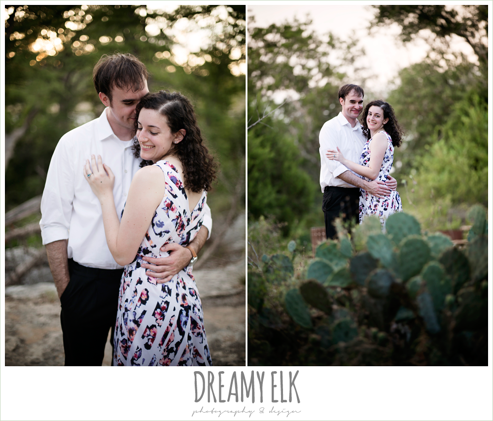 mckinney falls state park, summer engagement photo, austin, texas {dreamy elk photography and design}