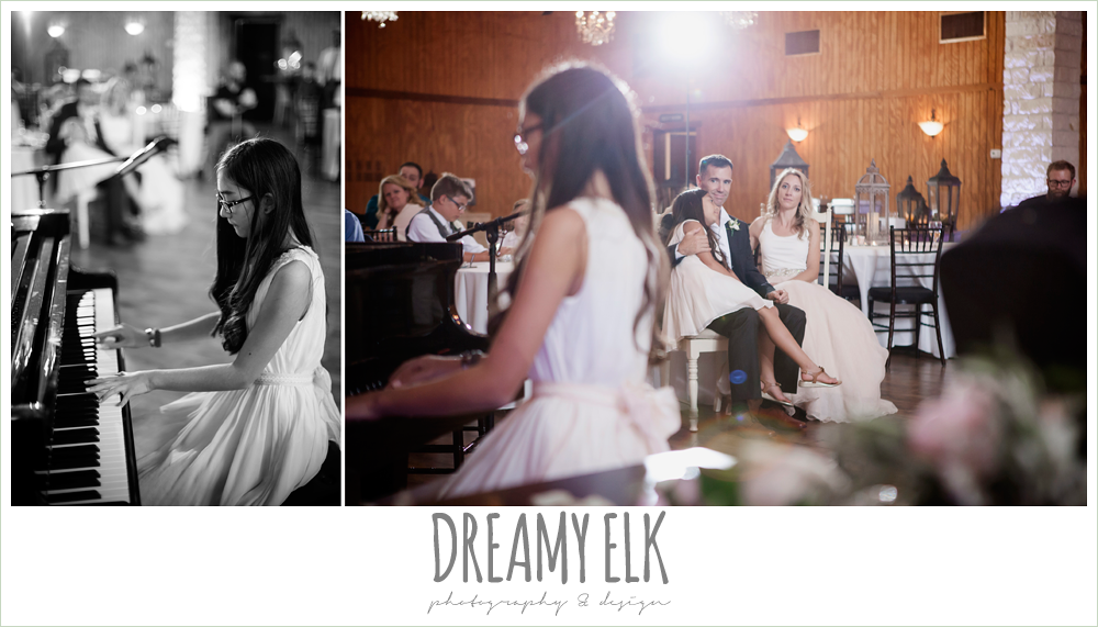 houston piano company, special music at wedding reception, july summer morning wedding, ashelynn manor, magnolia, texas {dreamy elk photography and design} photo