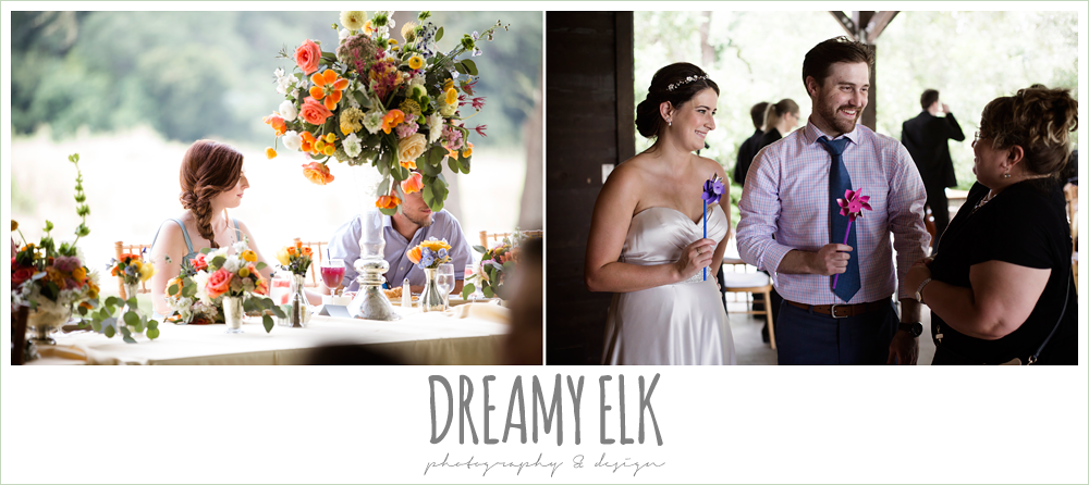 guests during reception, colorful outdoor sunday morning brunch wedding, hyatt hill country club, san antonio wedding photo {dreamy elk photography and design}