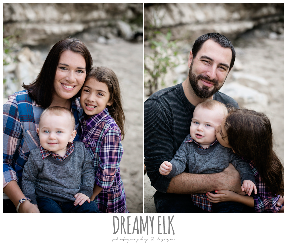 family photo, outdoor fall family portrait, walnut creek park, austin, texas {dreamy elk photography and design}