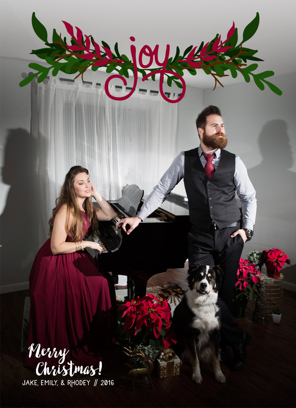 funny christmas photo, formal christmas photo