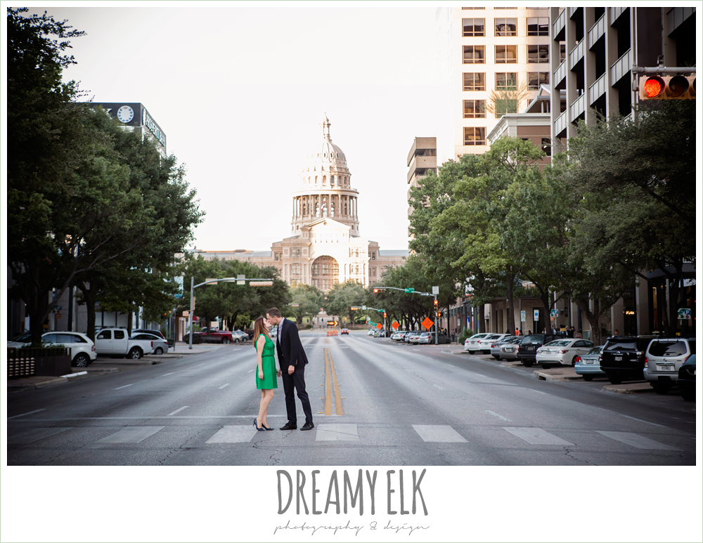 capitol building, downtown austin texas engagement photo, colorful, urban engagement photo {dreamy elk photography and design}