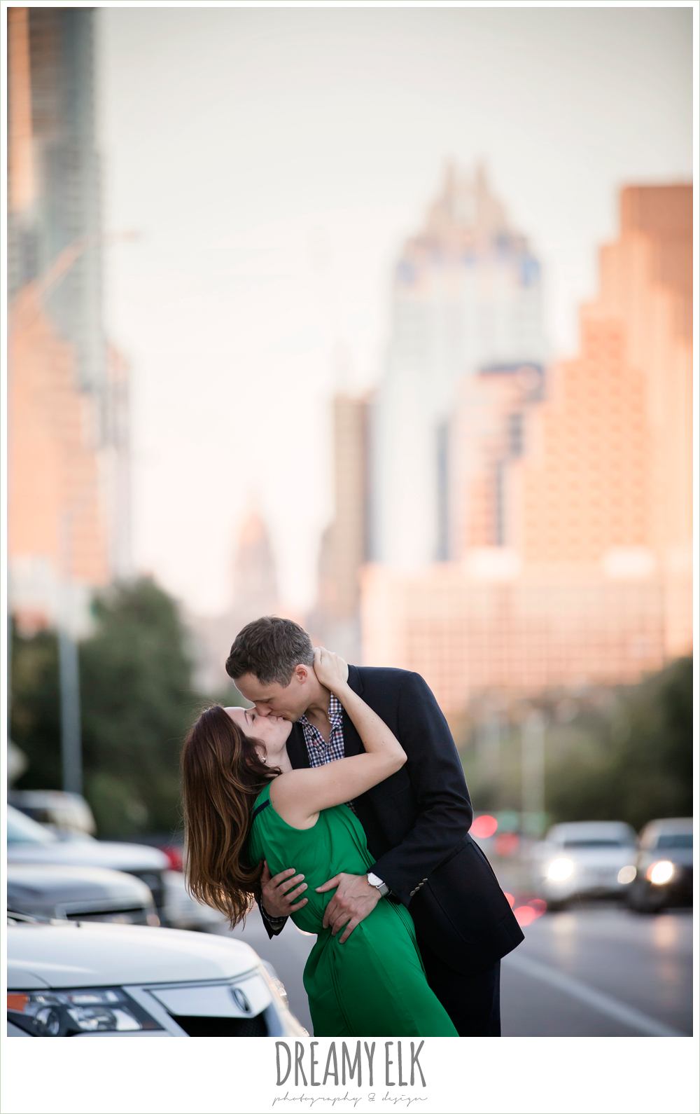 capitol building, downtown austin texas engagement photo, urban engagement photo {dreamy elk photography and design}