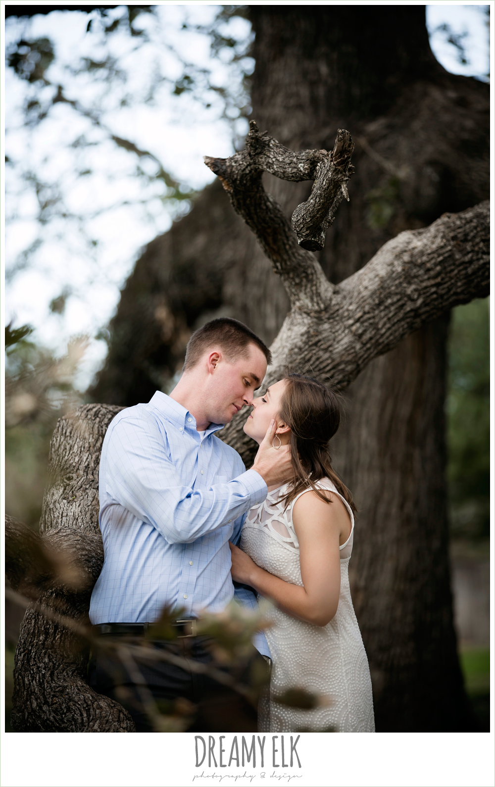 fall outdoor college station engagement photo {dreamy elk photography and design}
