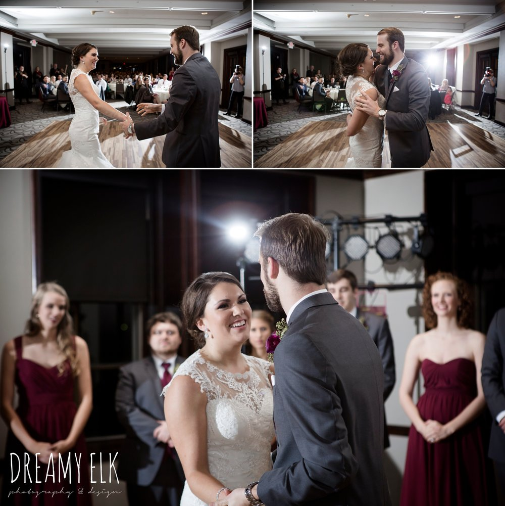 bride, casa blanca illusion lace wedding dress with button from lulus bridal, maroon december winter wedding, bella donna chapel, mckinney, texas {dreamy elk photography and design}