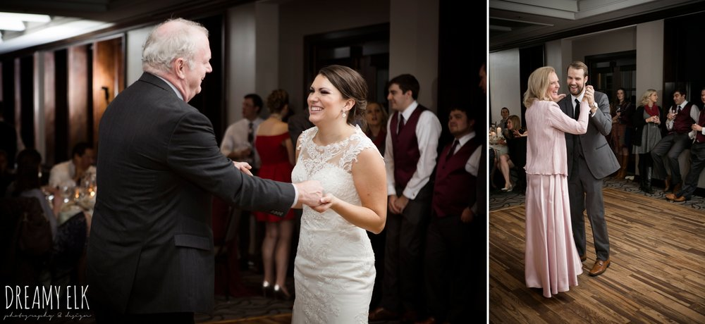 maroon december winter wedding, bella donna chapel, mckinney, texas {dreamy elk photography and design}