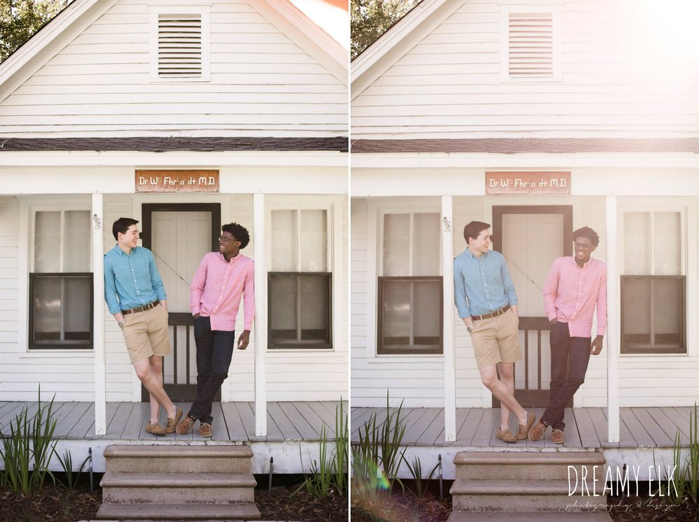 spring, march, high school senior boy, best friends, senior photo, tomball, texas {dreamy elk photography and design}