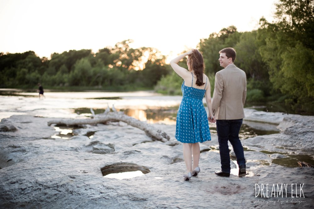 april sunset anniversary photo, mckinney falls state park, austin, texas {dreamy elk photography and design}