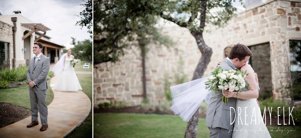 groom, mens wearhouse, gray suits, summer july wedding photo, canyonwood ridge, dripping springs, texas {dreamy elk photography and design}