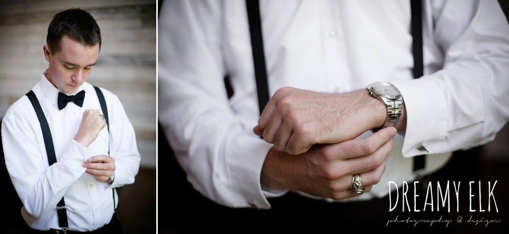 groom, classic tuxedo, groom getting dressed, summer july wedding, lavender, big sky barn, houston, texas, austin wedding photographer {dreamy elk photography and design} photo