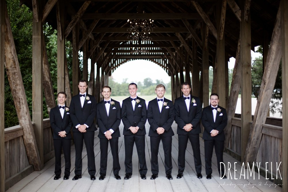 groom, groomsmen, classic tuxedo, summer july wedding, lavender, big sky barn, houston, texas, austin wedding photographer {dreamy elk photography and design} photo