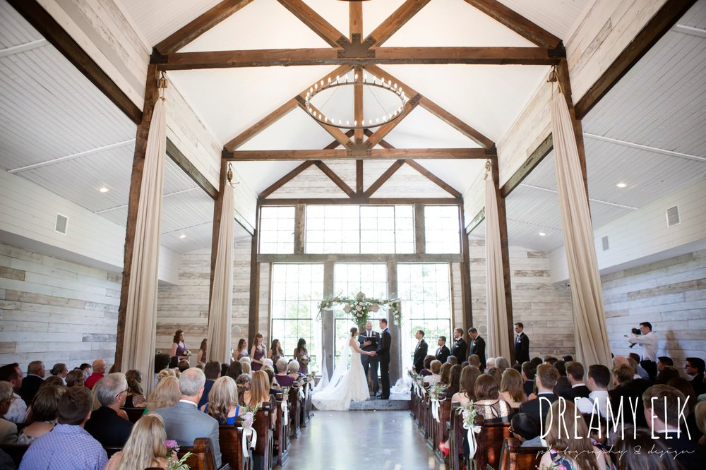indoor wedding ceremony, summer july wedding, lavender, big sky barn, houston, texas, austin wedding photographer {dreamy elk photography and design} photo