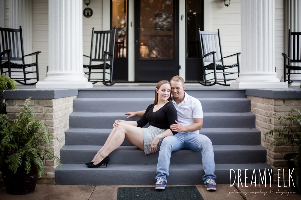 outdoor september engagement photo, casual wardrobe, austin texas wedding photographer {dreamy elk photography and design}