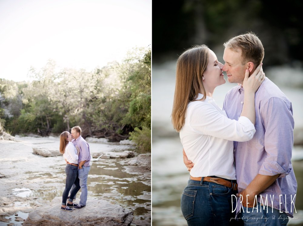 walnut creek park, outdoor september engagement photo, casual wardrobe, austin texas wedding photographer, austin texas parks {dreamy elk photography and design}