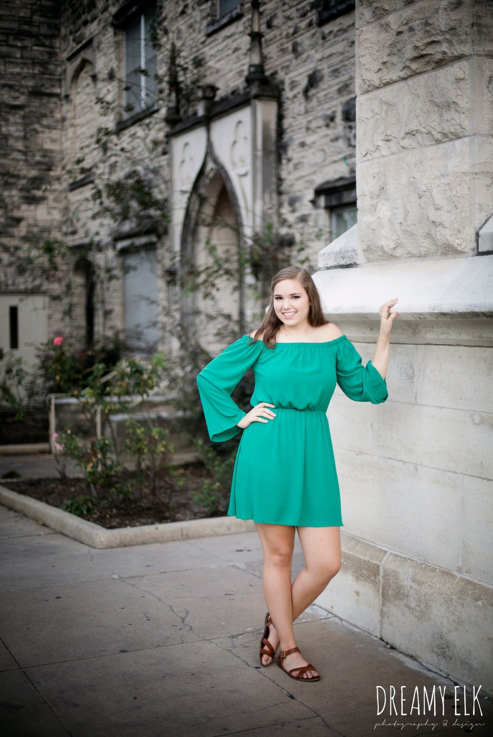 outdoor fall high school senior girl, downtown austin, texas {dreamy elk photography and design}