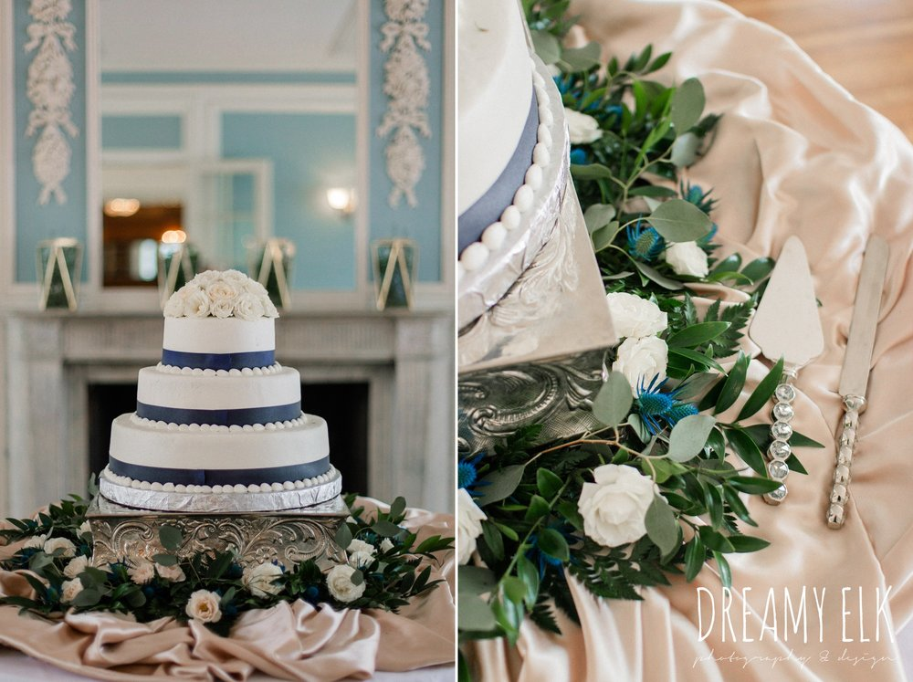 peace love and cakes, blue wedding flowers, spring wedding, the astin mansion, bryan, texas, spring wedding, dreamy elk photography and design