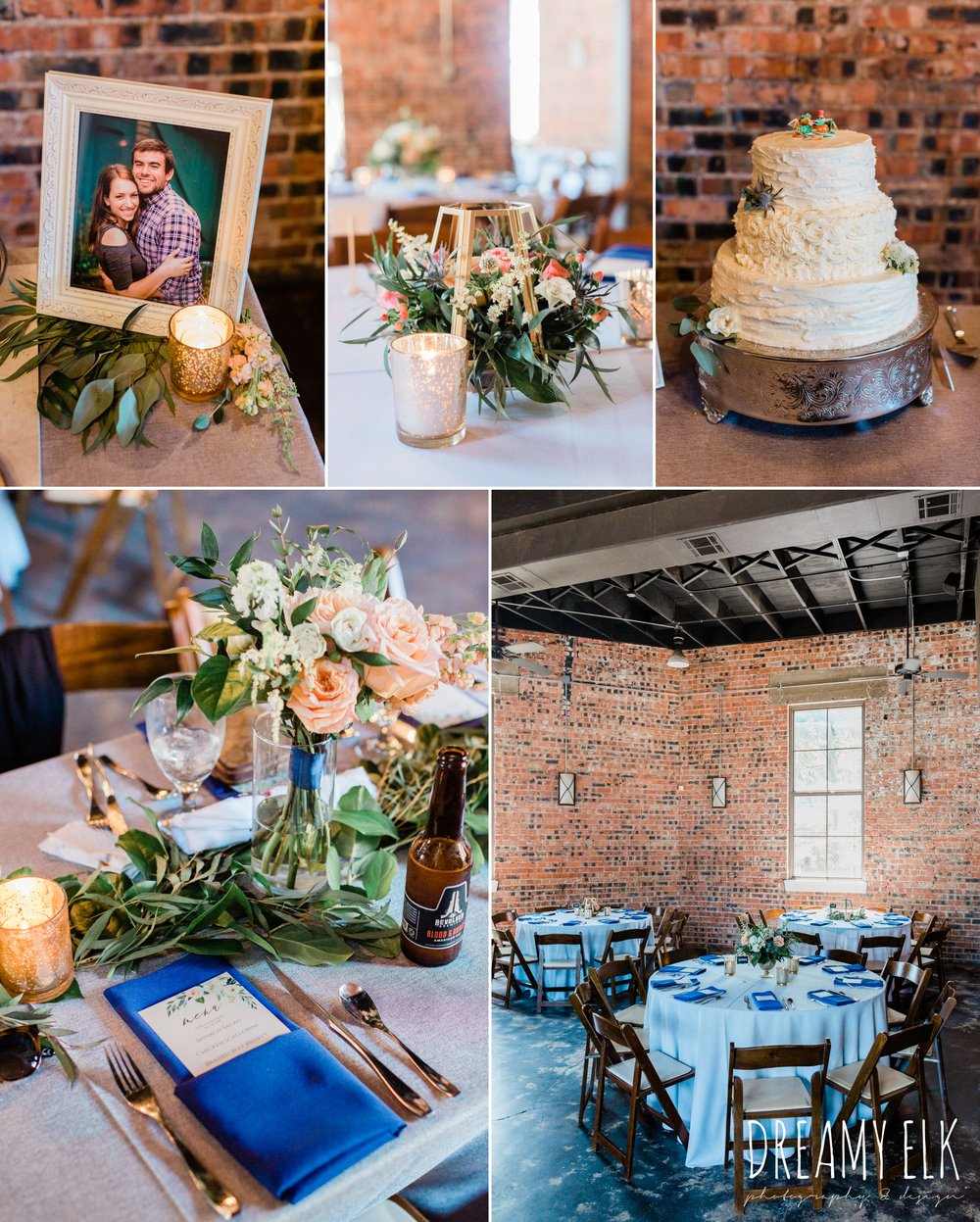 ashley and company, dvine cuisine, chalkboard signage, downtown 202, unforgettable floral, spring wedding photo college station texas, dreamy elk photography and design